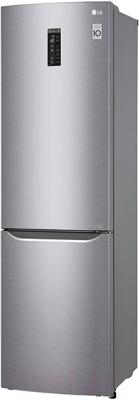 Холодильник с морозильником LG GA-B499SMKZ
