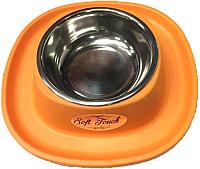 Подставка для мисок Georplast Soft Touch Inox 20051 -