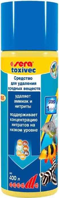 Купить Средство для ухода за водой аквариума Sera, Toxivec 3001, Германия
