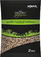 Грунт для аквариума Aquael Natural Multicolored Gravel / 114043 -