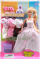 Кукла с аксессуарами Defa Модница 8012 -