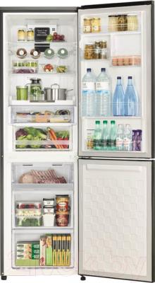 Холодильник с морозильником Hitachi R-BG410PU6XXGR