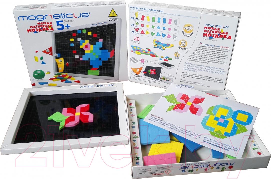 Купить Развивающая игрушка Magneticus, Мозаика. 5+ / MM-0220, Россия, вспененный полимер