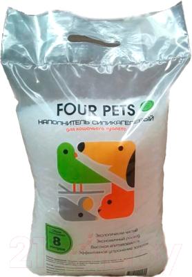 Наполнитель для туалета Four Pets TUZ007 (16л)