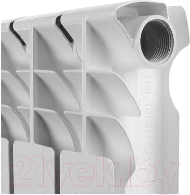 Радиатор алюминиевый Rommer Optima 500 (2 секции)