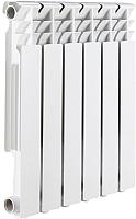 Радиатор алюминиевый Rommer Optima 500 (6 секций) -