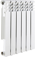 Радиатор алюминиевый Rommer Optima 500 (9 секций) -