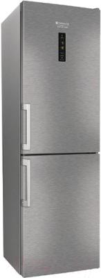 Холодильник с морозильником Hotpoint-Ariston HFP 8202 XOS