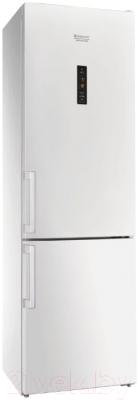 Холодильник с морозильником Hotpoint-Ariston HFP 8202 WOS
