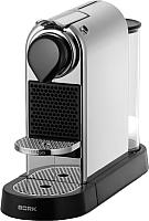 Капсульная кофеварка Bork C532 Citiz (хром) -
