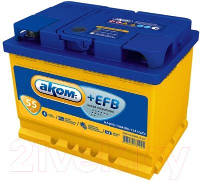 Автомобильный аккумулятор AKOM
