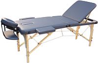 Массажный стол Oxygen Fitness Wellness Ecoline 100 (синий агат) -