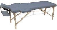 Массажный стол Oxygen Fitness Wellness Ecoline 50 (синий агат) -