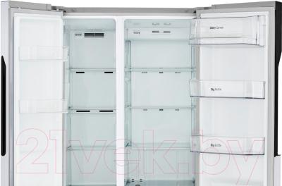 Холодильник с морозильником LG GC-B247JVUV