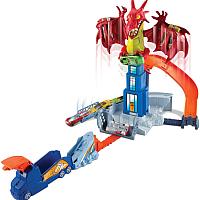 Автотрек гоночный Hot Wheels Удар дракона / DWL04 -