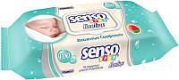 Влажные салфетки Senso Baby Ecoline пластиковый клапан (100шт) -