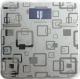 Напольные весы электронные Polaris PWS 1834DGF (серебристый) -