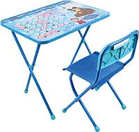 Комплект мебели с детским столом Ника КП/18 Маша и медведь. Азбука 4 -