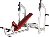 Скамья для жима штанги Bronze Gym H-025_C -