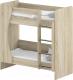 Двухъярусная кровать детская Славянская столица ДУ-КД2 (дуб сонома) -