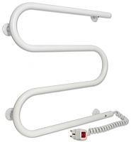 Полотенцесушитель электрический Laris М-образный 25 ПС3 ЧК3 500x500 (правый) -