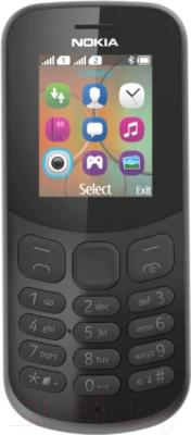 Мобильный телефон Nokia 130 Dual 2017 (черный)