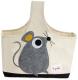 Корзина 3 Sprouts Серый мышонок / 67661 -