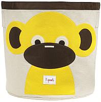 Корзина 3 Sprouts Желтая обезьянка / 67541 -