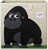 Коробка для хранения 3 Sprouts Черная горилла / 27250 -