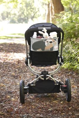 Сумка для коляски 3 Sprouts Серый бульдог / 00021