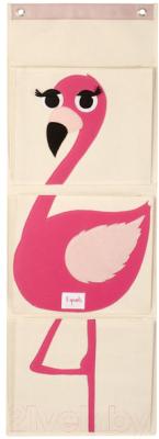 Органайзер для хранения 3 Sprouts Розовый фламинго / 67411 -