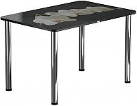 Обеденный стол Васанти Плюс ПРФ 100x60 (хром/53) -