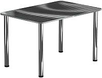 Обеденный стол Васанти Плюс ПРФ 100x60 (хром/56) -
