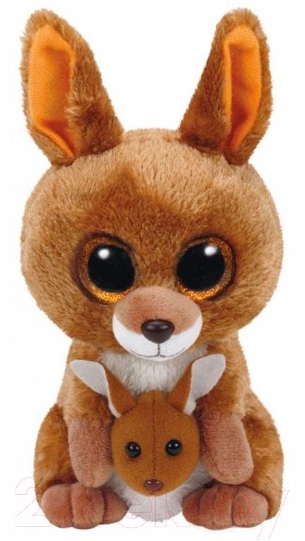 Купить Мягкая игрушка TY, Beanie Boo's Кенгуру Kipper / 37226, Китай, коричневый, полиэстер
