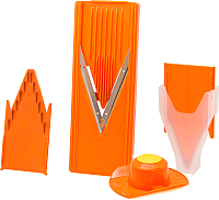 Овощерезка ручная Borner Классика + / 3810037 (оранжевый) -