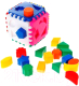 Развивающая игрушка Nina Кубик с сегментами / 00031-2 -