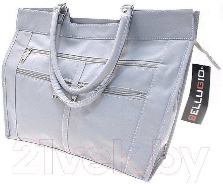 Купить Сумка Bellugio, FF-255 (светло-серый), Китай, текстиль