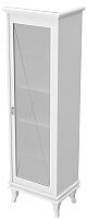 Шкаф-пенал для ванной Аква Родос Беатриче / АР0001662 (белый/патина хром) -