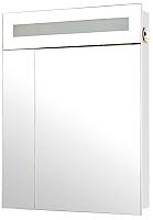 Шкаф с зеркалом для ванной Аква Родос Ника 60 / HC0000022 (с подсветкой) -