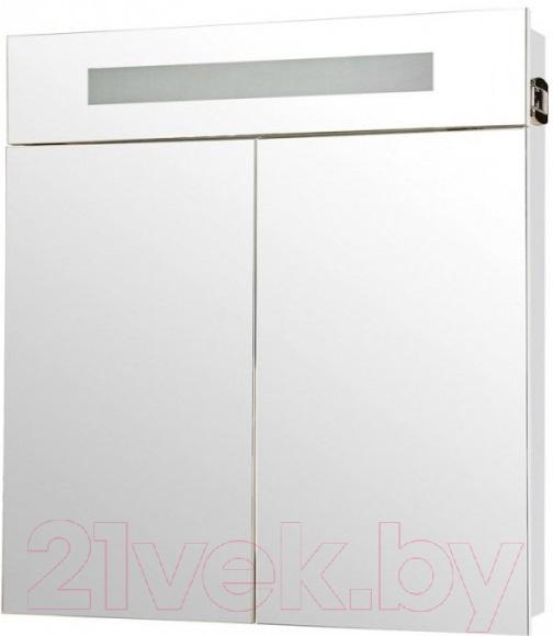 Купить Шкаф с зеркалом для ванной Аква Родос, Ника 75 с подсветкой / HC0000023, Украина