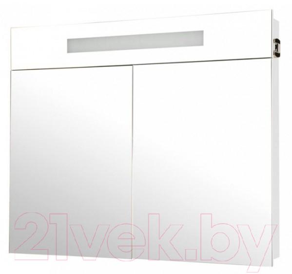 Купить Шкаф с зеркалом для ванной Аква Родос, Ника 95 с подсветкой / HC0000024, Украина