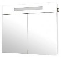 Шкаф с зеркалом для ванной Аква Родос Ника 95 / HC0000024 (с подсветкой) -