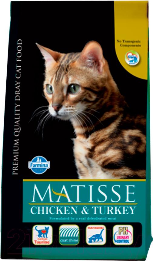 Купить Корм для кошек Farmina, Matisse Chicken & Turkey (1.5кг), Италия