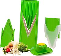 Овощерезка ручная Borner Классика+ 3810181 (салатовый) -