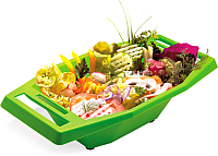 Судок для овощерезки Borner 3721074 (салатовый) -
