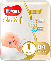 Подгузники Huggies Elite Soft 1 Mega (84шт) -