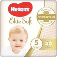 Подгузники детские Huggies Elite Soft 5 Mega (56шт) -