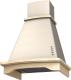 Вытяжка купольная Krona Donata CPB 600 PB / 00020679 (слоновая кость, без багета) -