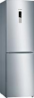 Холодильник с морозильником Bosch KGN39VL17R -
