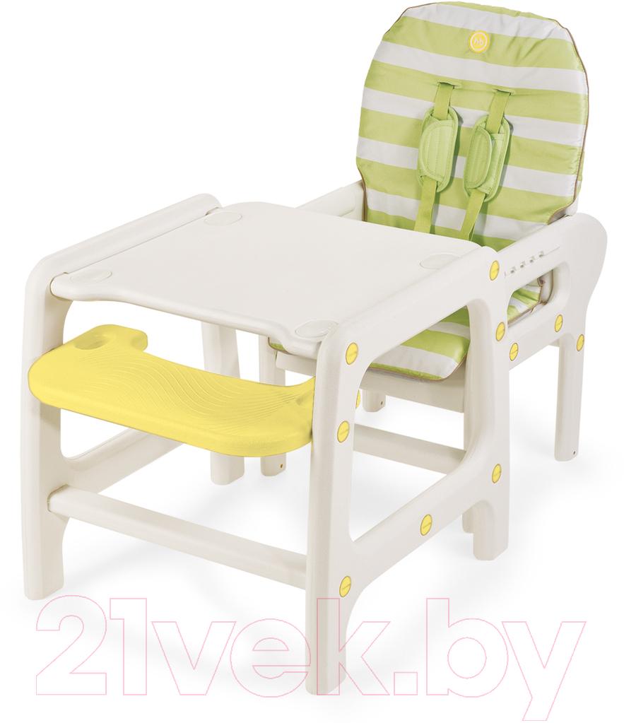 Купить Стульчик для кормления Happy Baby, Oliver (зеленый), Китай